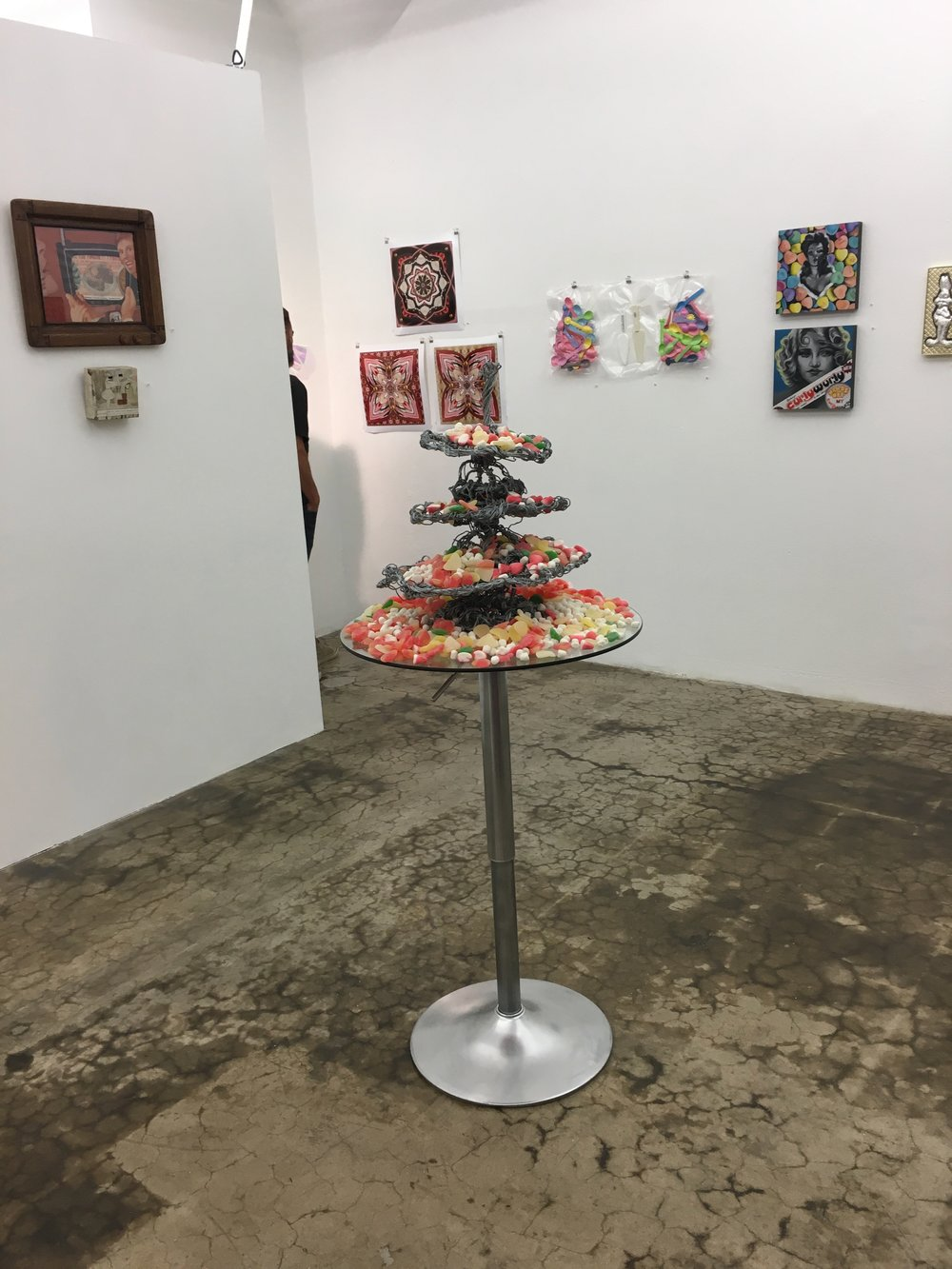 Past Down, Installation View, 2018