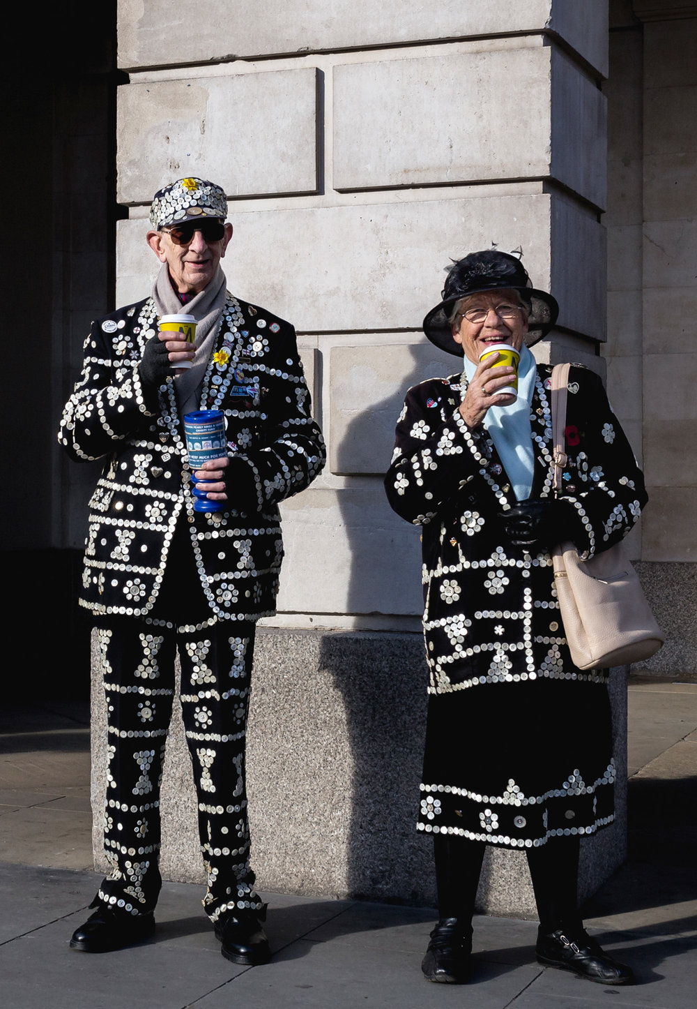The Pearly King & Queen   | from  £10  + Postage |   BUY