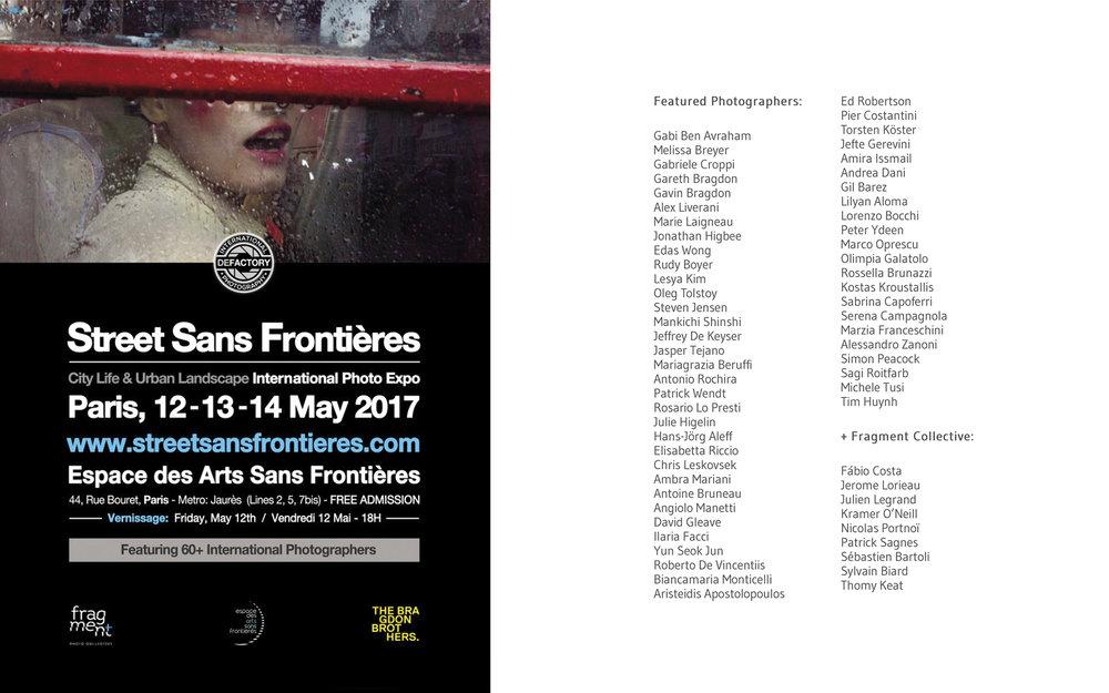 Street Sans Frontières Exhibition Paris