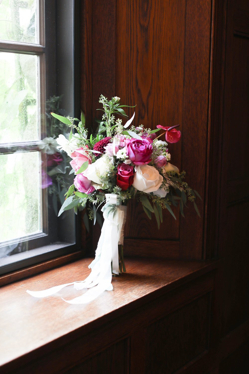 Garden roses and tropicals