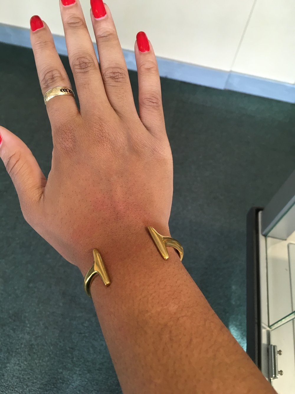 (SoKo double bar cuff bracelet, $74. Photo taken from SoKo.com)