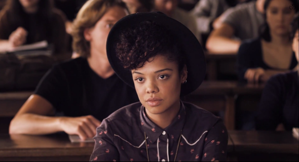 "Photo taken from the film ""Dear White People"""