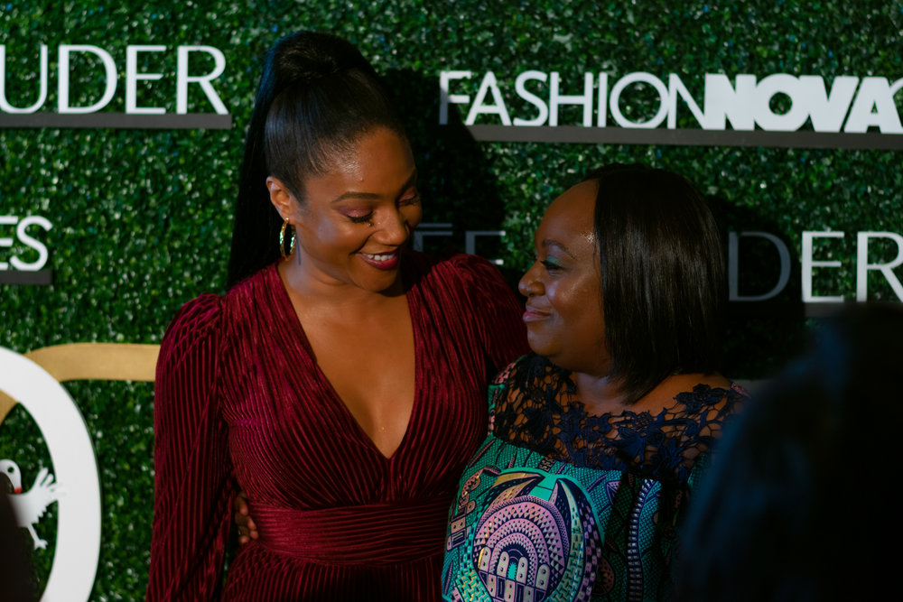 Tiffany Haddish and Koshie Mills