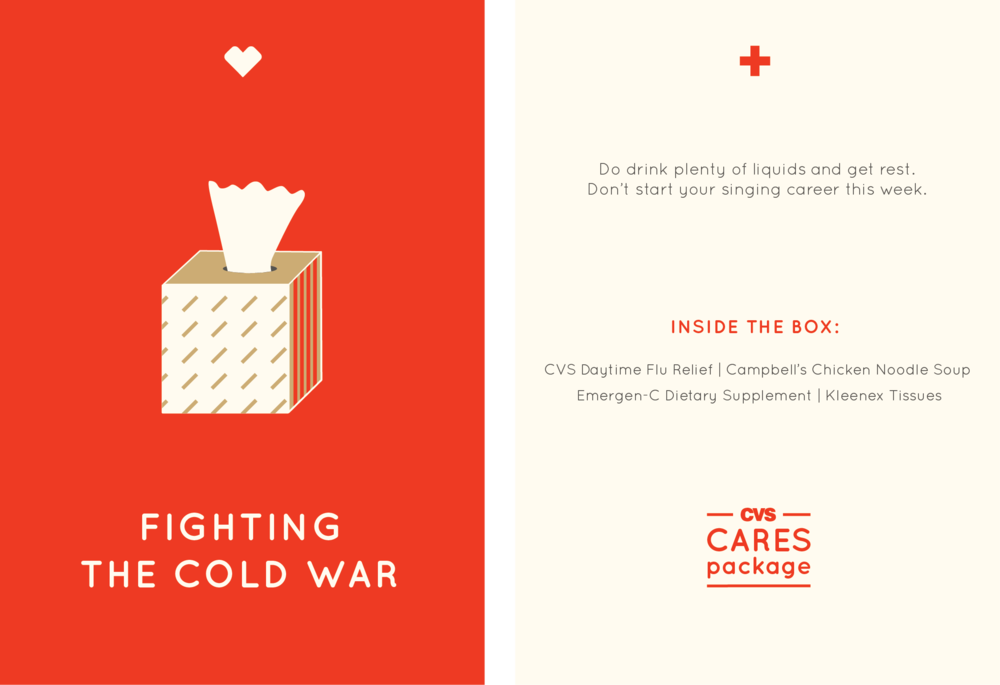 CVS CARES PACKAGE —