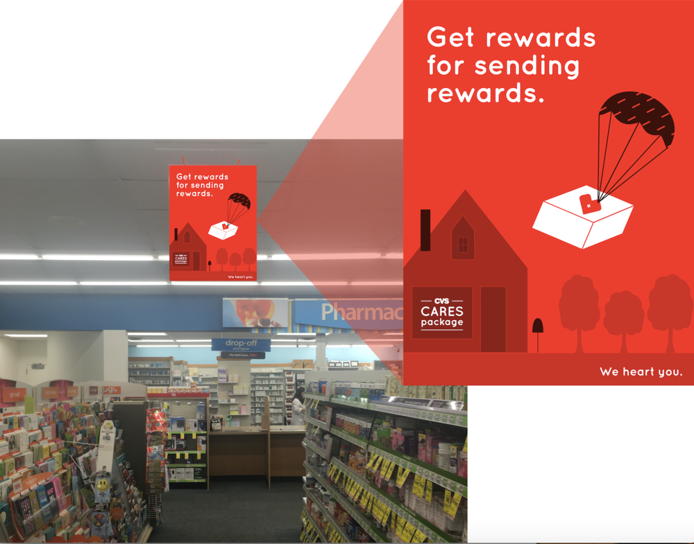 Get CVS rewards points for every item included in the package (even if it's a gift).