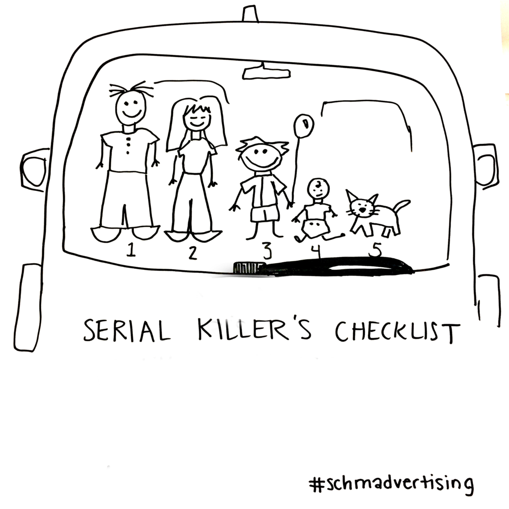 We need to stop spoonfeeding these serial killers, you guys.
