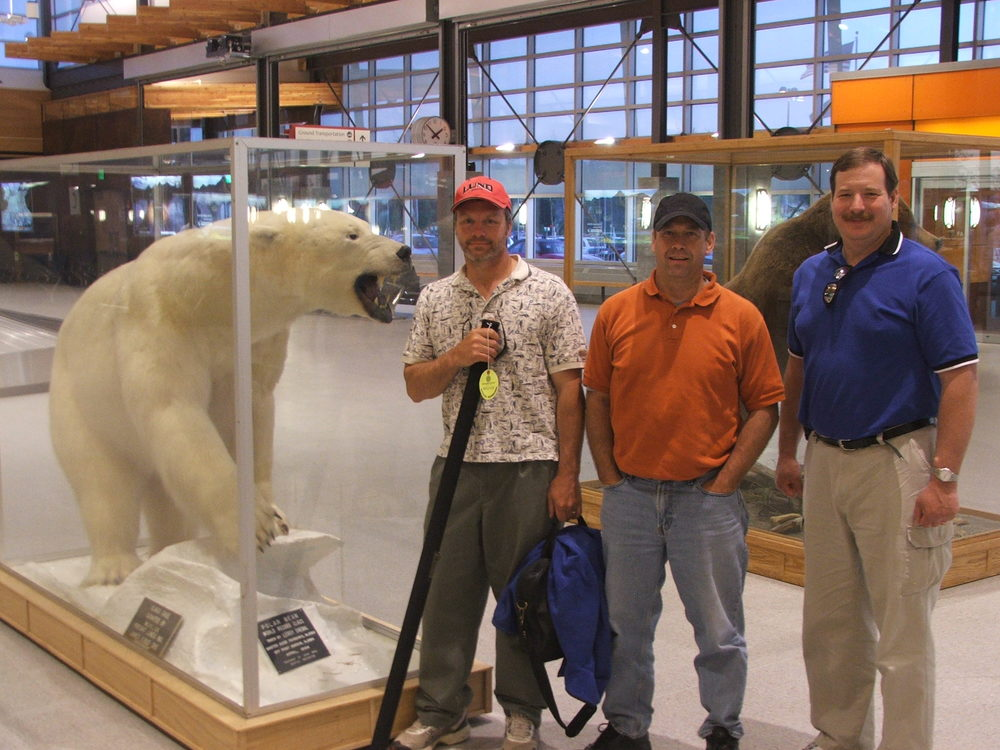 Pie for Pastors Group visits Alaska: Just arrived to Fairbanks Airport