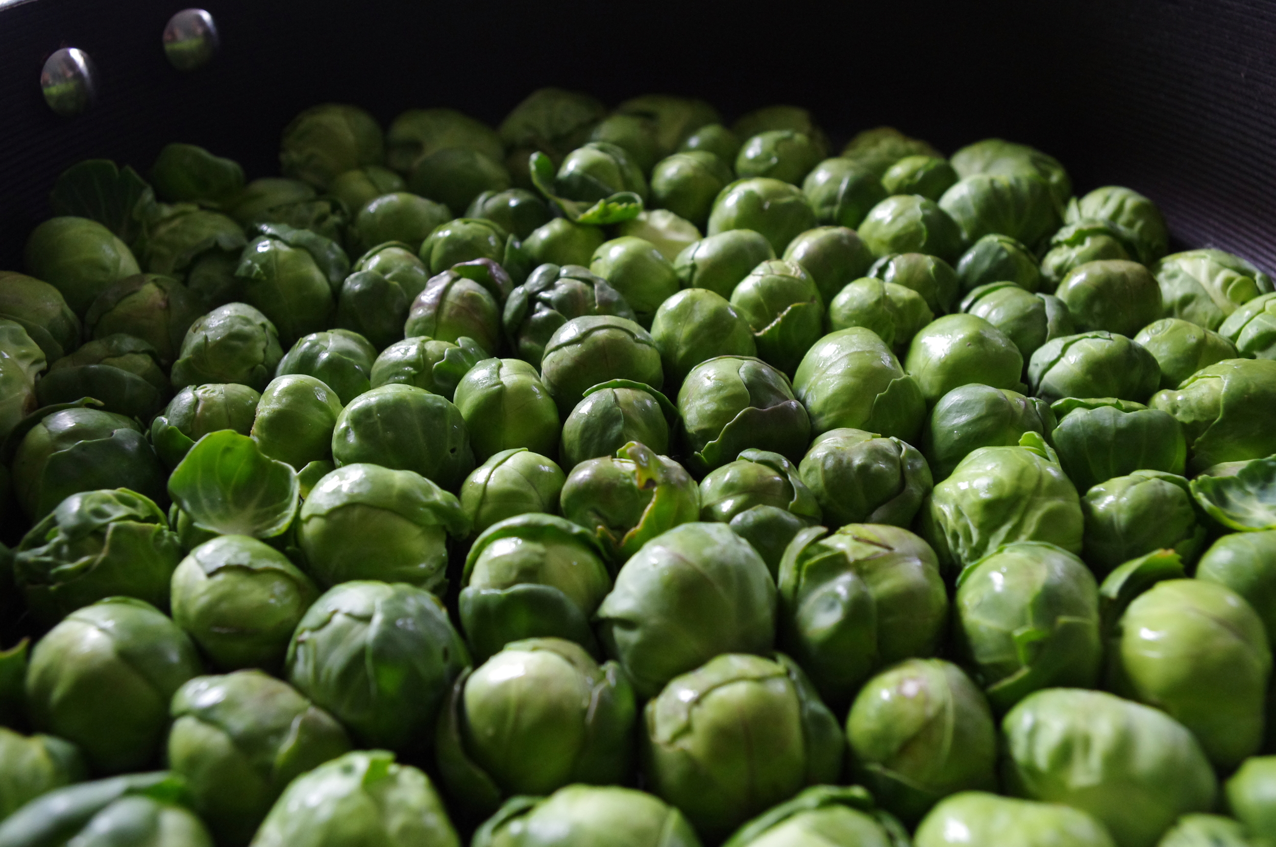 Brussels Sprouts Ready To Cook