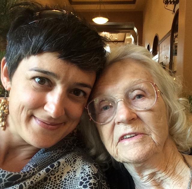 me and grandma 1