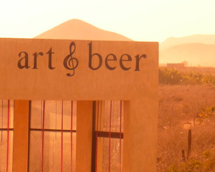 Art & Beer, part of the inspiration for this event, is located between Todos Santos and Cabo San Lucas, Mexico