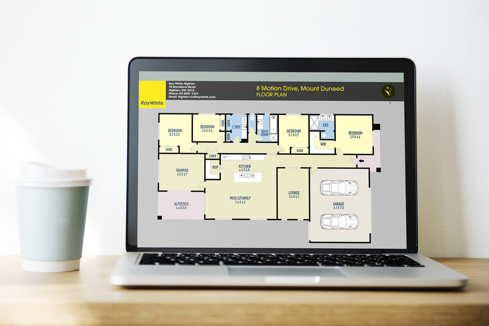 Clear & Informative Floor Plans