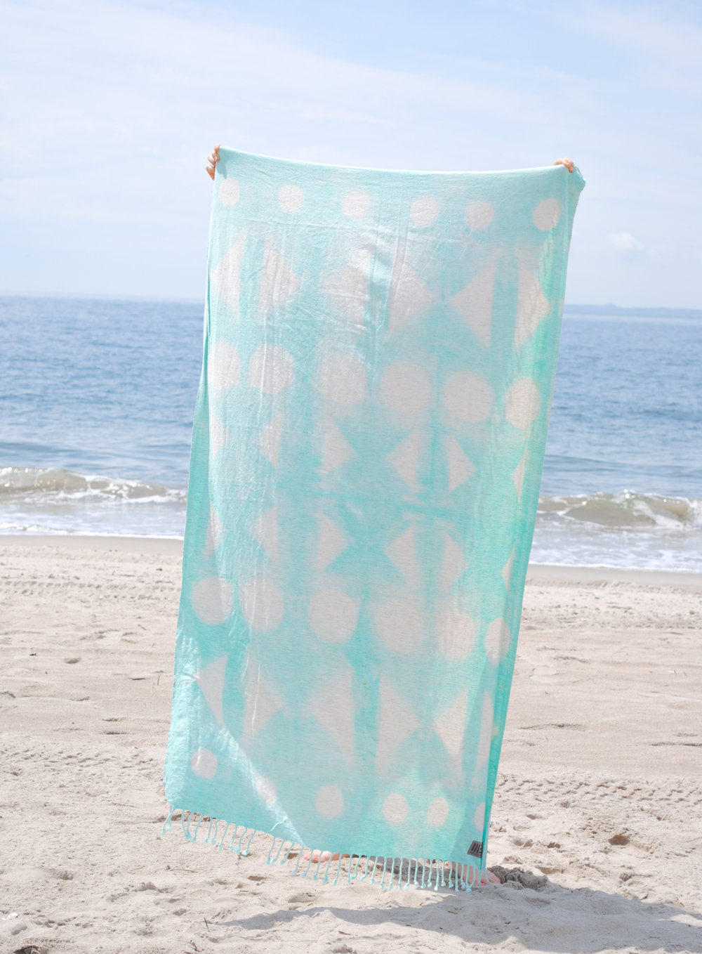 Sea Glass - Shape Shibori