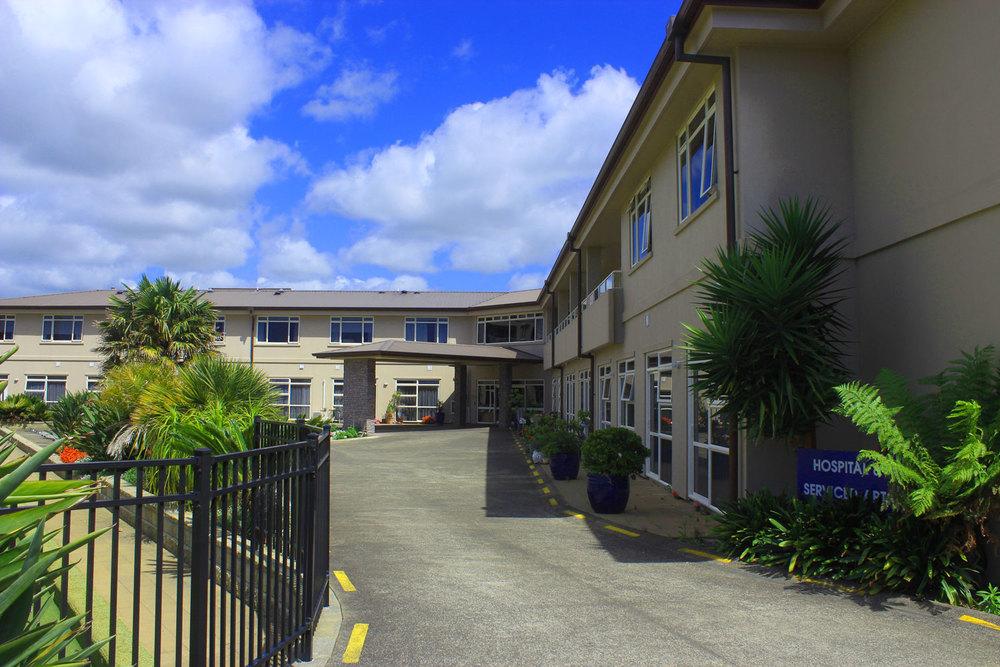 Maygrove Village Hospital Driveway Entrance