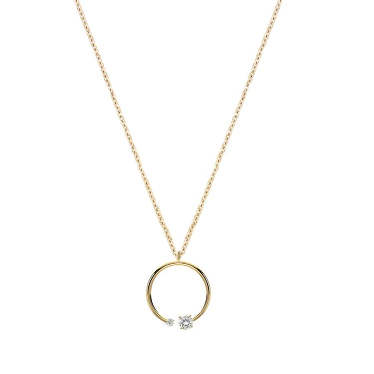 Mommy me diamond pendant necklace katkim mommy me diamond pendant necklace aloadofball Image collections