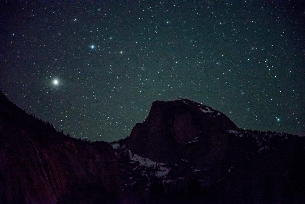 Starlight and Half Dome