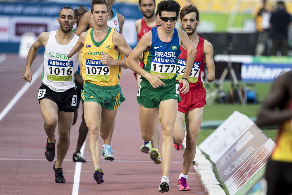 Michael Roeger, Australian T46 athletics competitor
