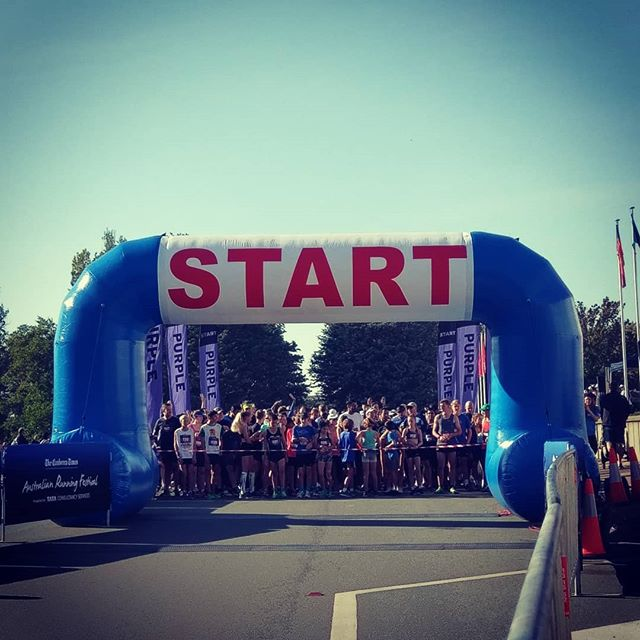 5km Race Start  #australianrunningfestival #runningmotivation #thecanberratimes #teamtcs