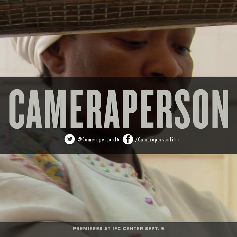 In #Cameraperson, Kirsten Johnson reaches into the vast trove of footage she has shot over decades around the world. See why critics and audiences call it one of the best films of #2016. Opening at @IFCCenter Sept. 9  #documentary #film #documentaries #photog #cinematography #sundance #filmfestival