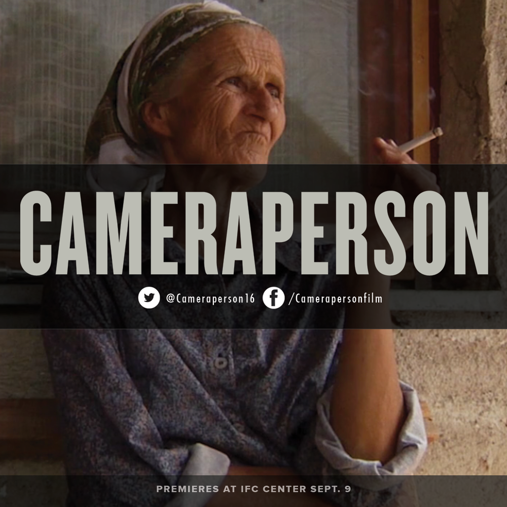 One of the most awarded #documentaries of #2016. #Cameraperson opens in #NewYorkCity this weekend at @IFCCenter. Get tickets now!  #documentary #film #documentaries #photog #cinematography #sundance #filmfestival