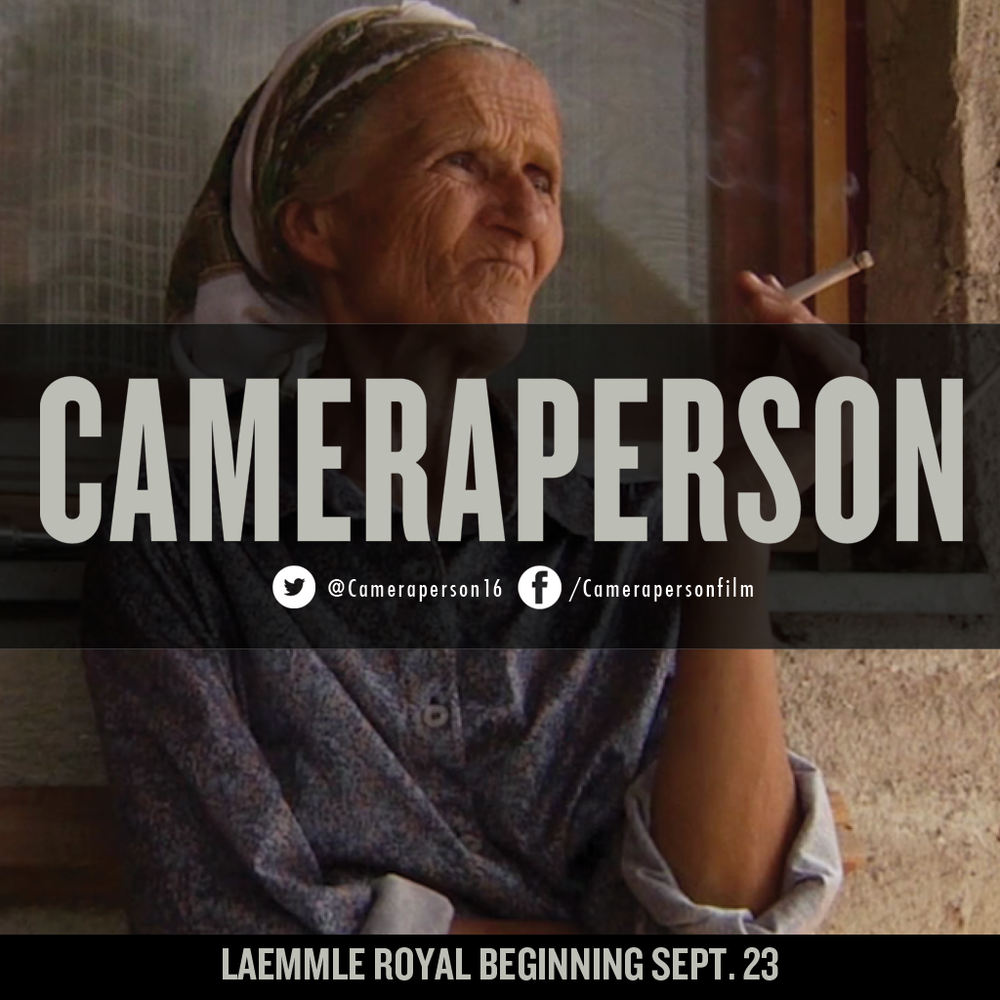 One of the most awarded #documentaries of #2016. #Cameraperson opens in #LosAngeles this weekend at @LaemmleTheatres. Get tickets now!  #documentary #film #documentaries #photog #cinematography #sundance #filmfestival