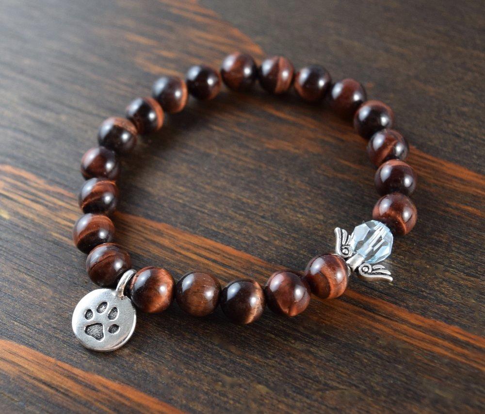pawprint bracelet