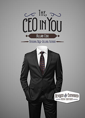 Allan Cox's latest powerful revelations and solutions in his new book, THE CEO IN YOU, come from his insider's view, working with America's CEOs, Top Teams and Boards of Directors. Allan challenges his clients to find their strengths by identifying and facing their fears. Utilizing this valuable core technique to make needed changes, Allan provides America's leaders with a most real and futuristic promise for achieving success.