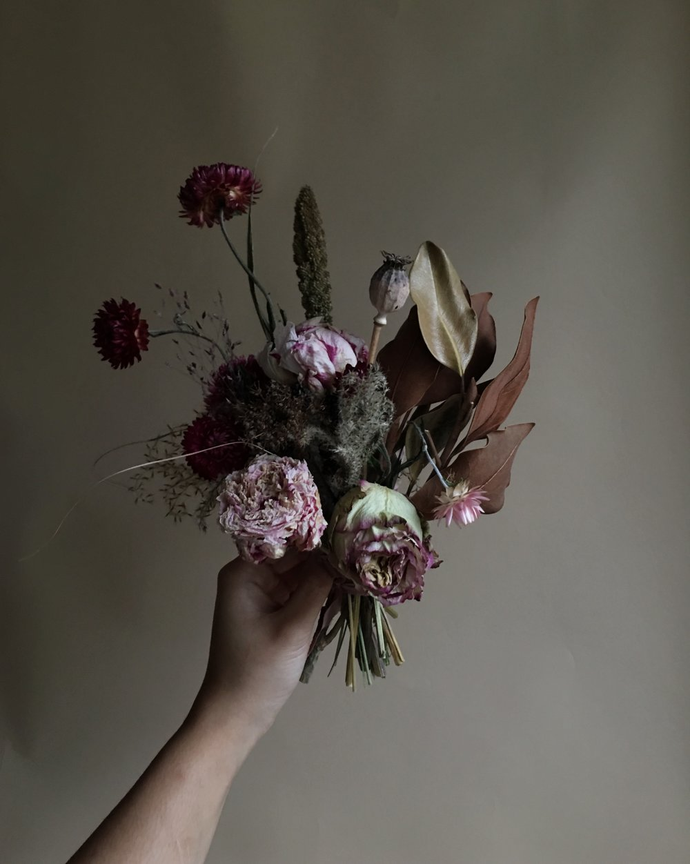 Portland florist dried flower bouquets rue anafel wild weddings rather princess weddings which are actually fun to do too this year im cross my fingers for a bride that wants all dried flowers izmirmasajfo
