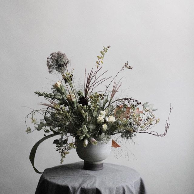 Hosting an Everlasting Centerpiece workshop with @notary__ceramics on November 22!  We will be using a mix of dried and fresh ingredients and designing in unique vessels made by Sarah. @krisleboeuf will be there photographing everyone's work. Only six spots.  Link in bio.