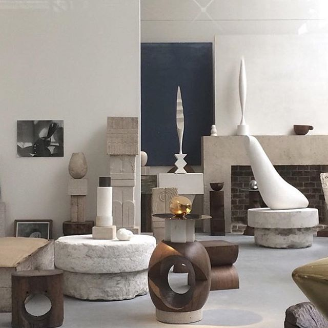 Brancusi via @presentandcorrect. I compile my inspiration and visually pleasing images (to my eyes) at @like__lola if you'd like to take a look or follow along my image hoarding.