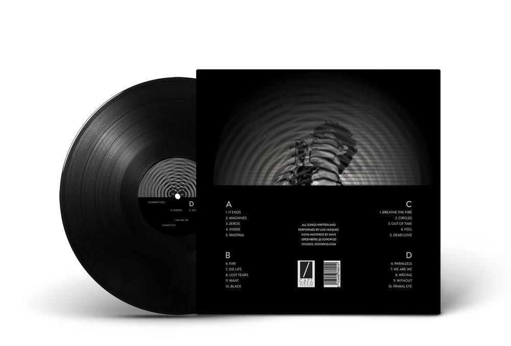 Double LP Album Design — Clarita Hinojosa