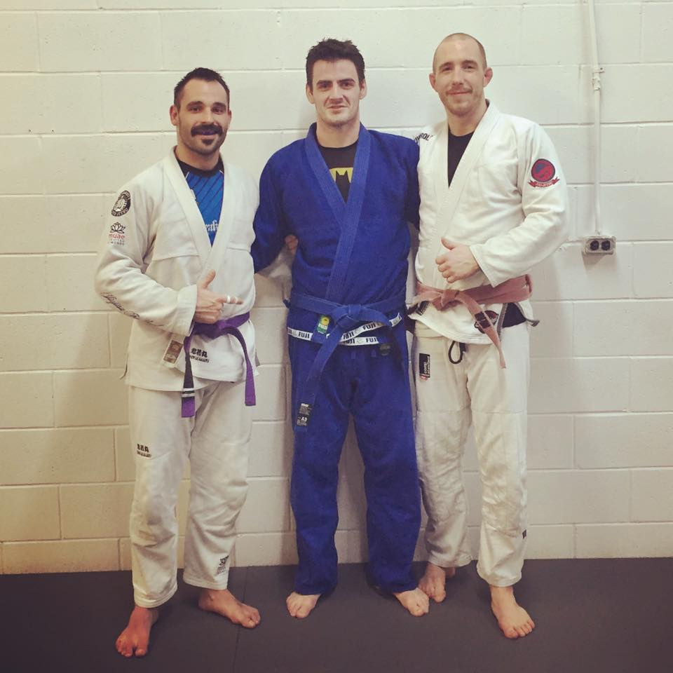 Nolan promoted to Blue belt after just over two years of training