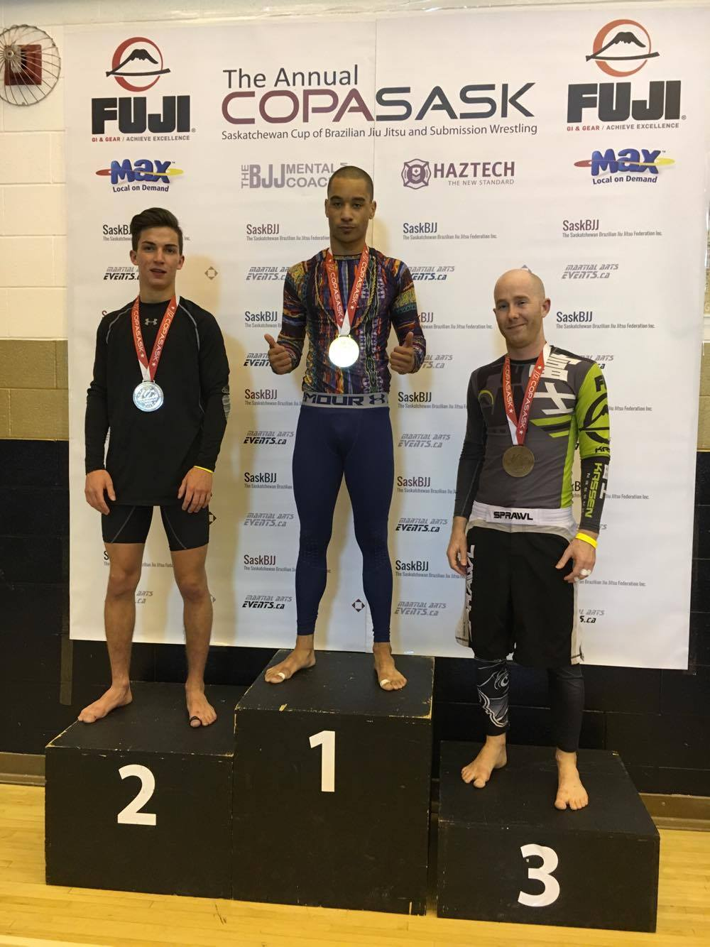 Tarin wins the No-Gi division