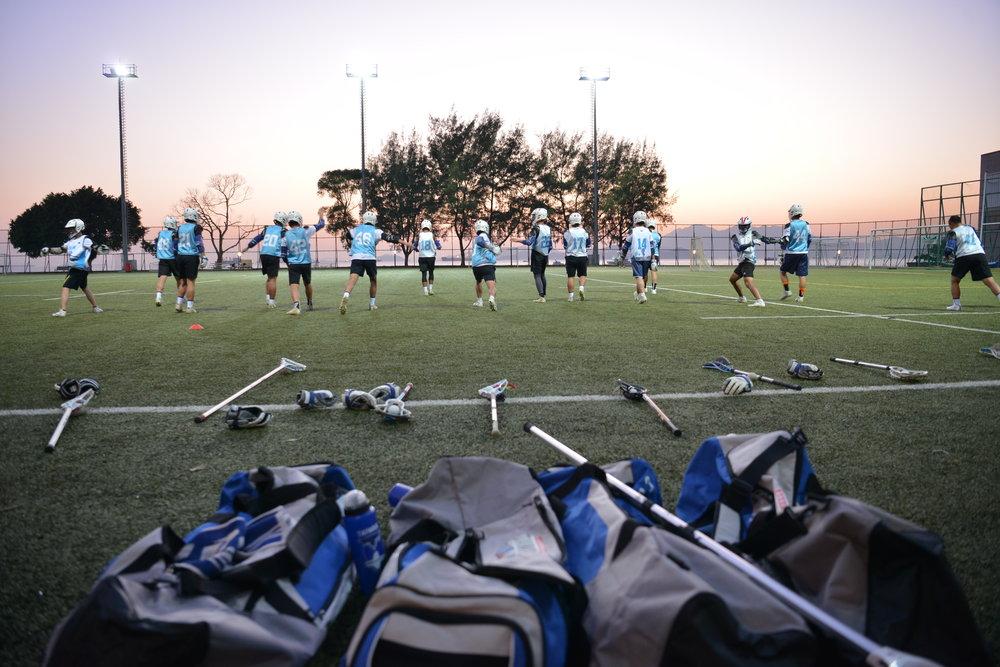 2月15日,男女子U19代表隊成員提前抵達香港,進行移地訓練並且整頓心情。