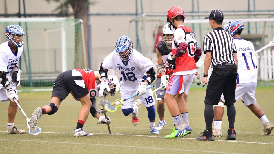 台灣男子代表隊對上Hong Kong Youth Academy之戰如魚得水,最終以7比3取勝。