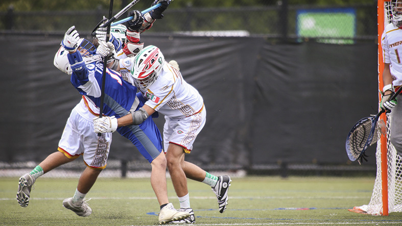 Mexico saves best for last, as Gastony scores five in win over... - 2017/07/15 2016 U19 World Lacrosse