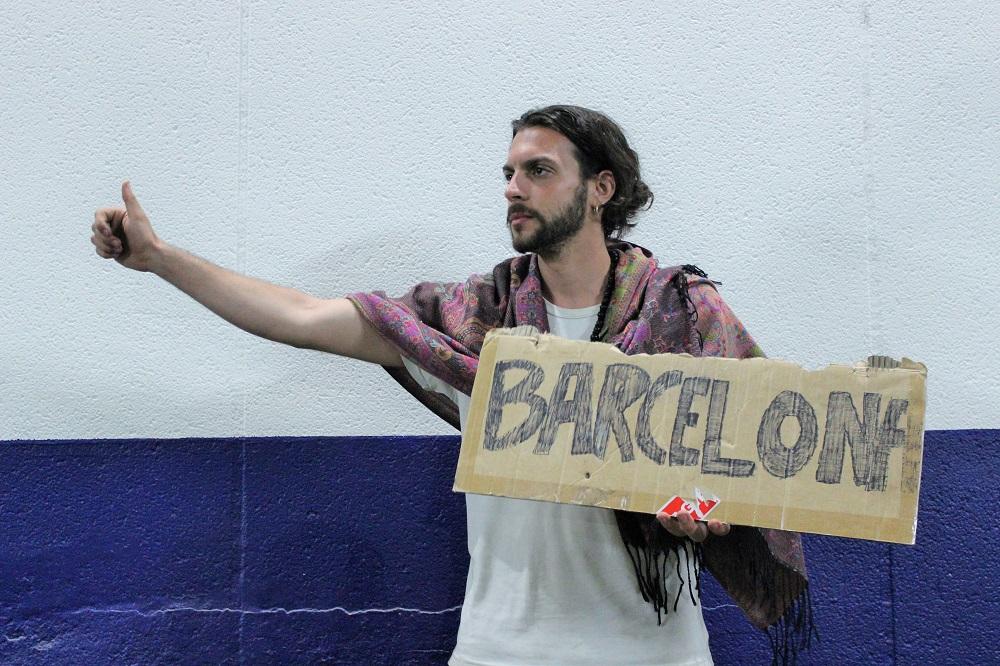 Nico varias horas después de '...un argentino que está tan quemado que casi no habla'