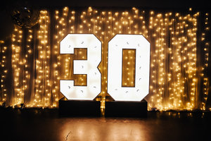 light up numbers for hire marquee lights victoriamarquee lights