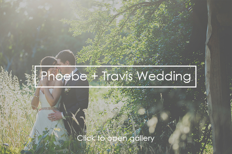 Phoebe + Travis Wedding