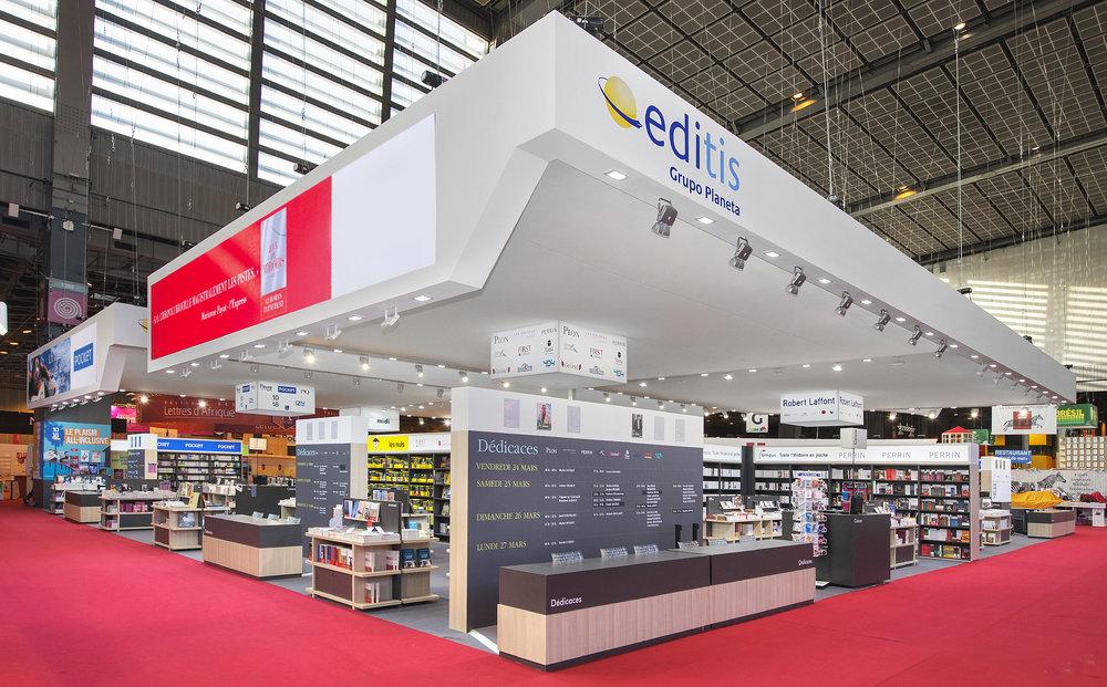 Le stand EDITIS au salon du livre de Paris 2017