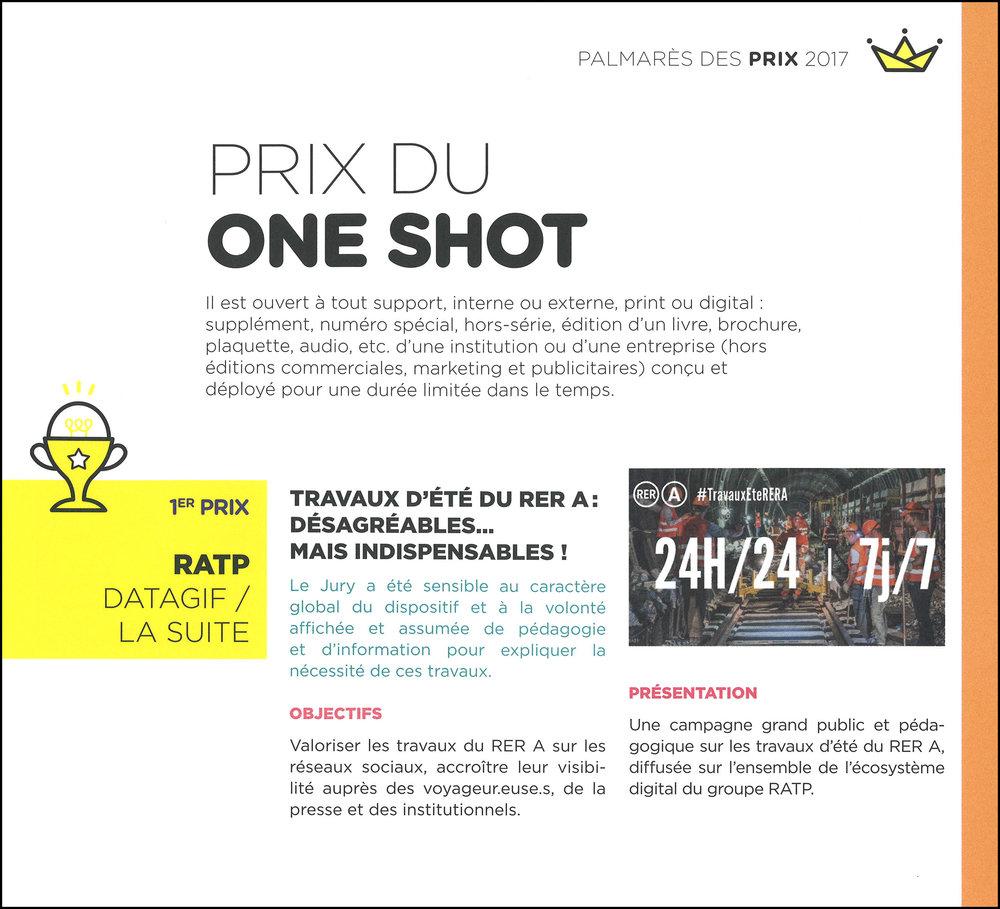 Extrait du Mag des Grands Prix 2017 COM'ENT