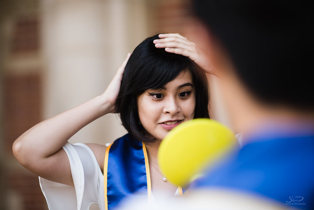 Copy of Copy of behind the scenes make-up with a college senior  | Stanley Wu Photography | Los Angeles | Graduation Portraits | UCLA, USC, LMU, Pepperdine, CSULA, CSUN, CSULB, UCI, UCSD