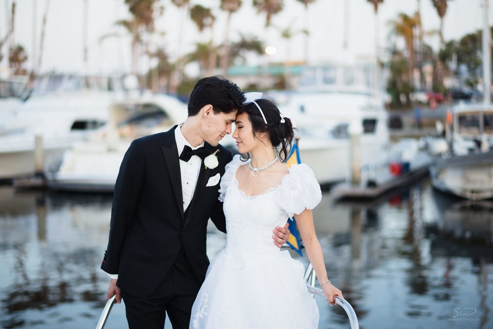 Hotel Portofino Redondo Beach Wedding. Los Angeles and Orange County Engagement and Wedding Photographer.