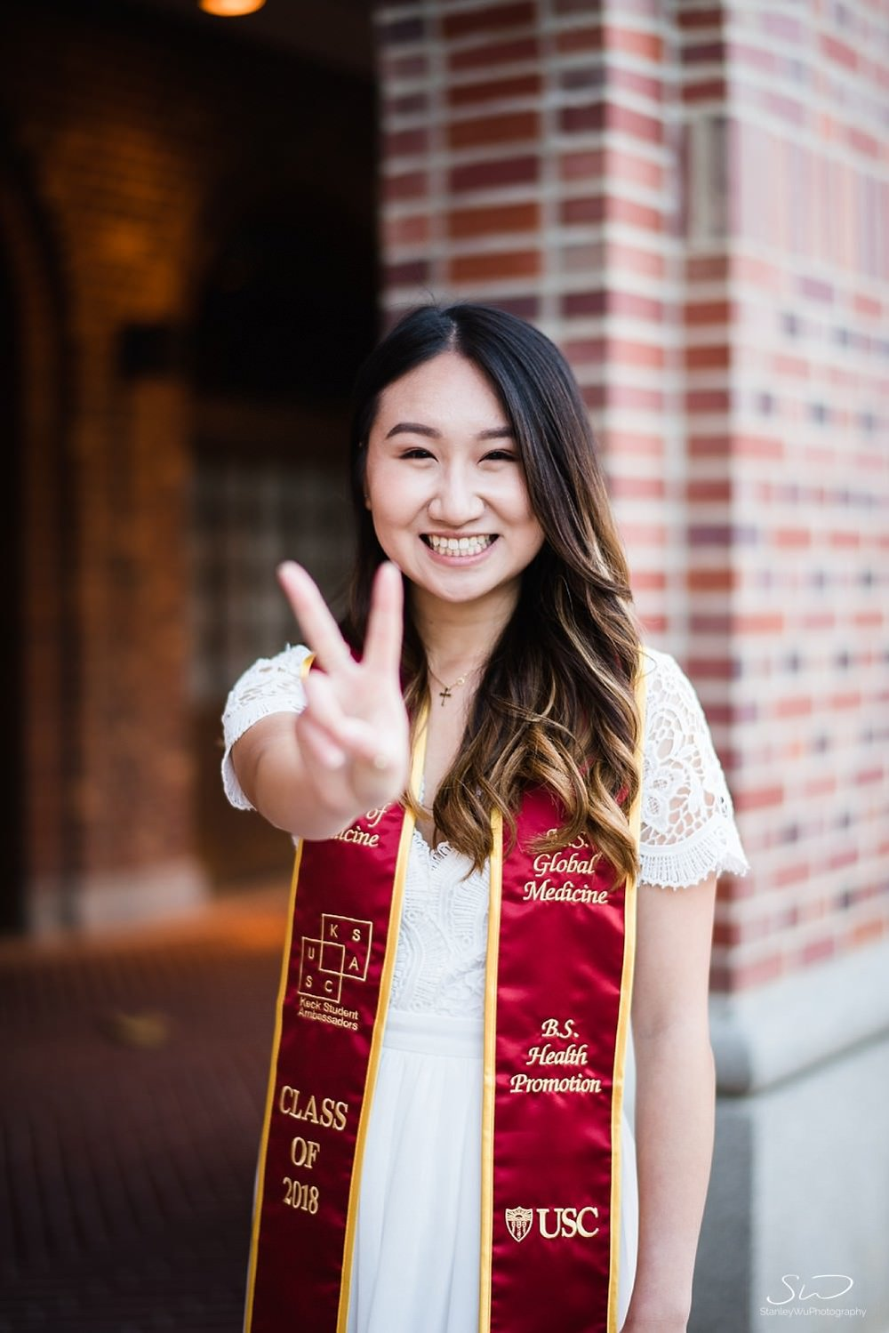 Fight on at Bovard at USC | Los Angeles Orange County Senior Portrait & Wedding Photographer