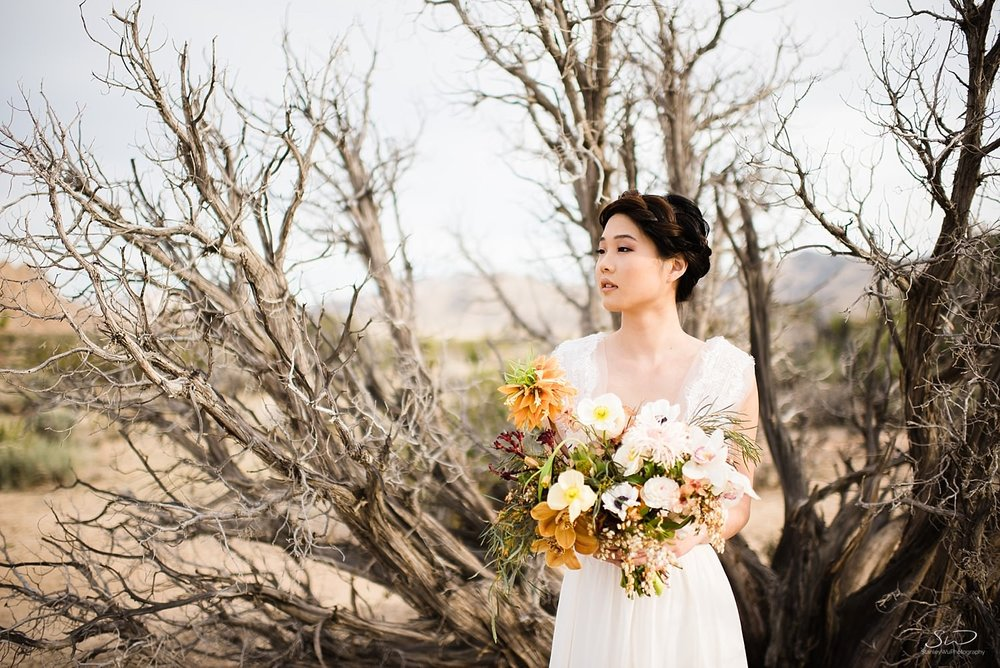 | Joshua Tree Desert Wedding, Engagement, Elopement Inspiration