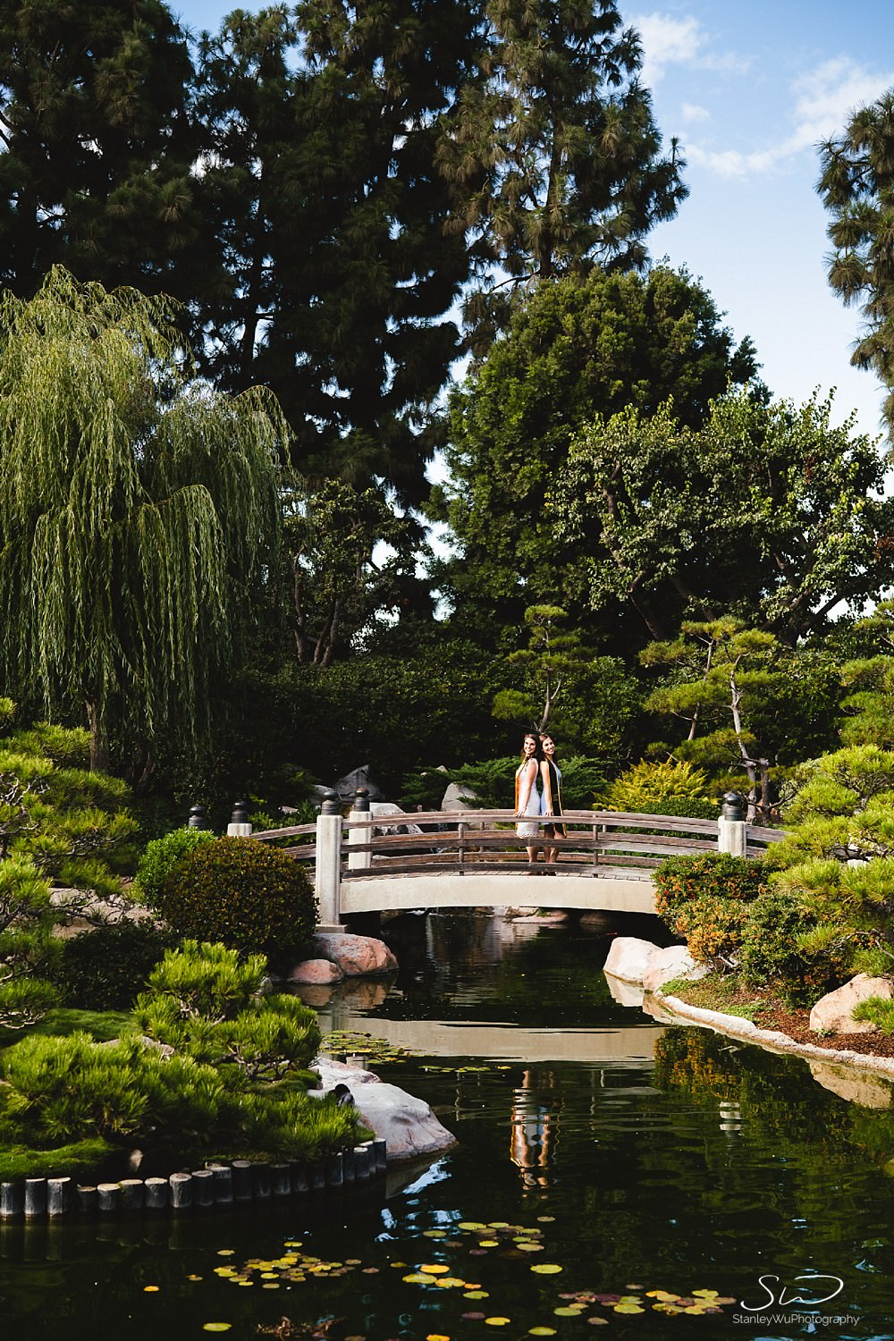 beautiful  graduation portraits at csulb earl burns miller japanese garden