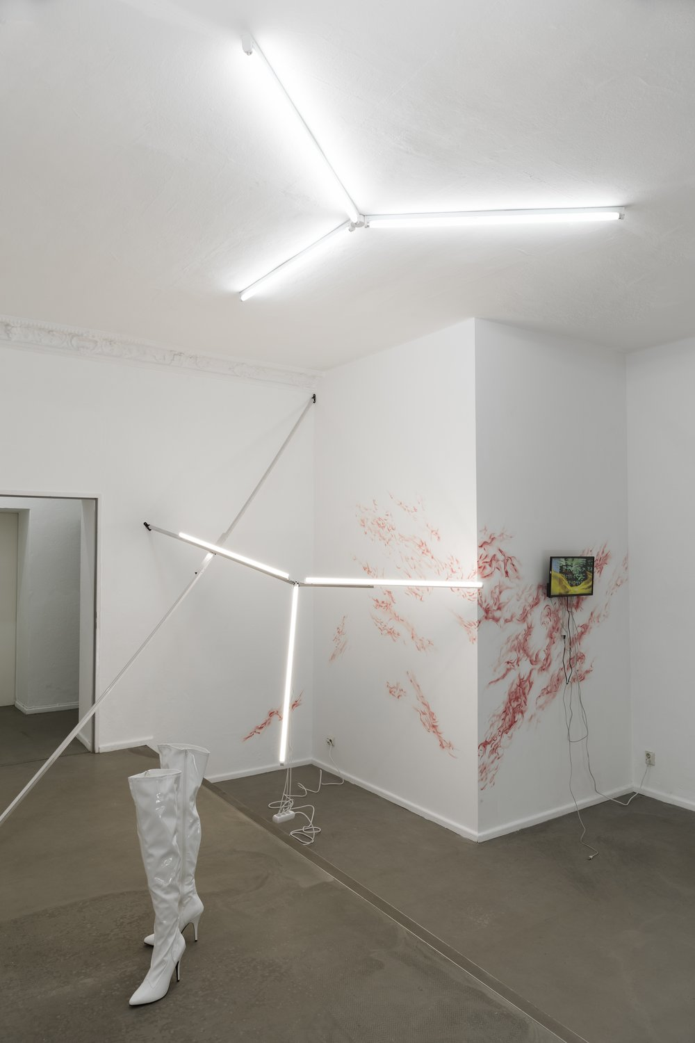 Exhibition view at Display // There - Valentin Dommanget