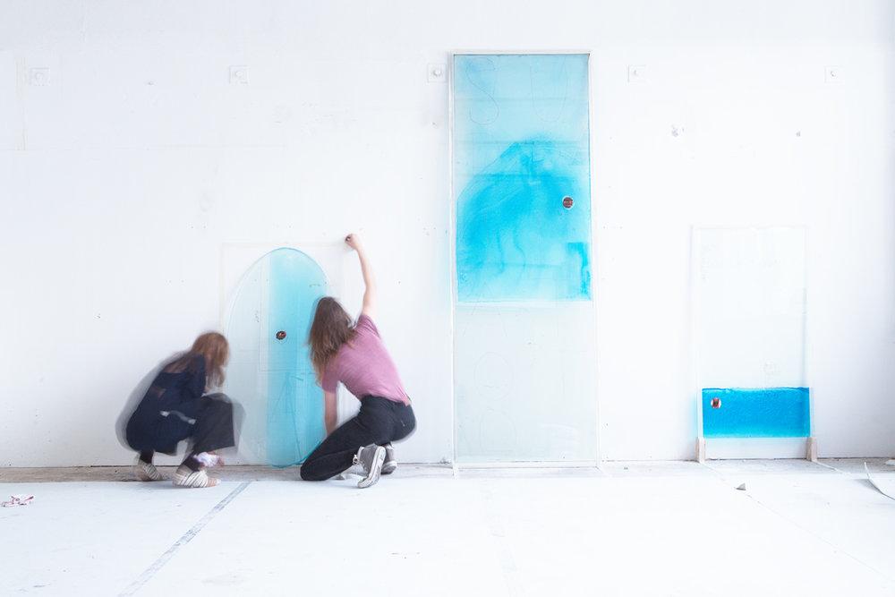 Marie Jeschke and Anja Langer,ma drama bebe, toto ma (series 2017)