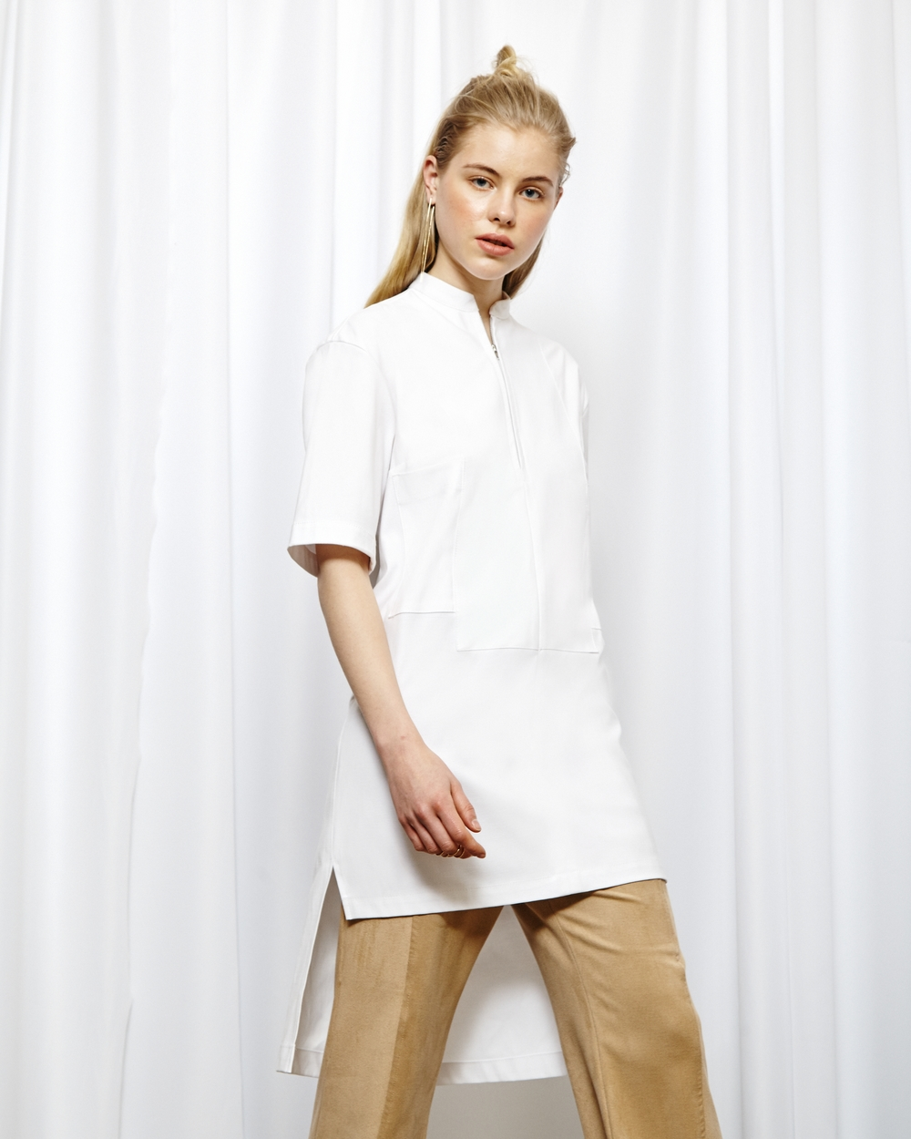 Purism Shirt in White 65€