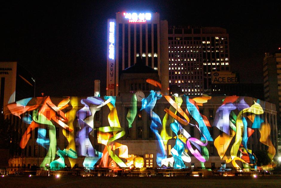 Séoul+Hi+Seoul+Festival+e-motion+-+1er+au+9+mai+2004,+projection+sur+la+façade+de+la+Mairie+de+Séoul+-+2004+-+Corée+du+Sud+4.jpg