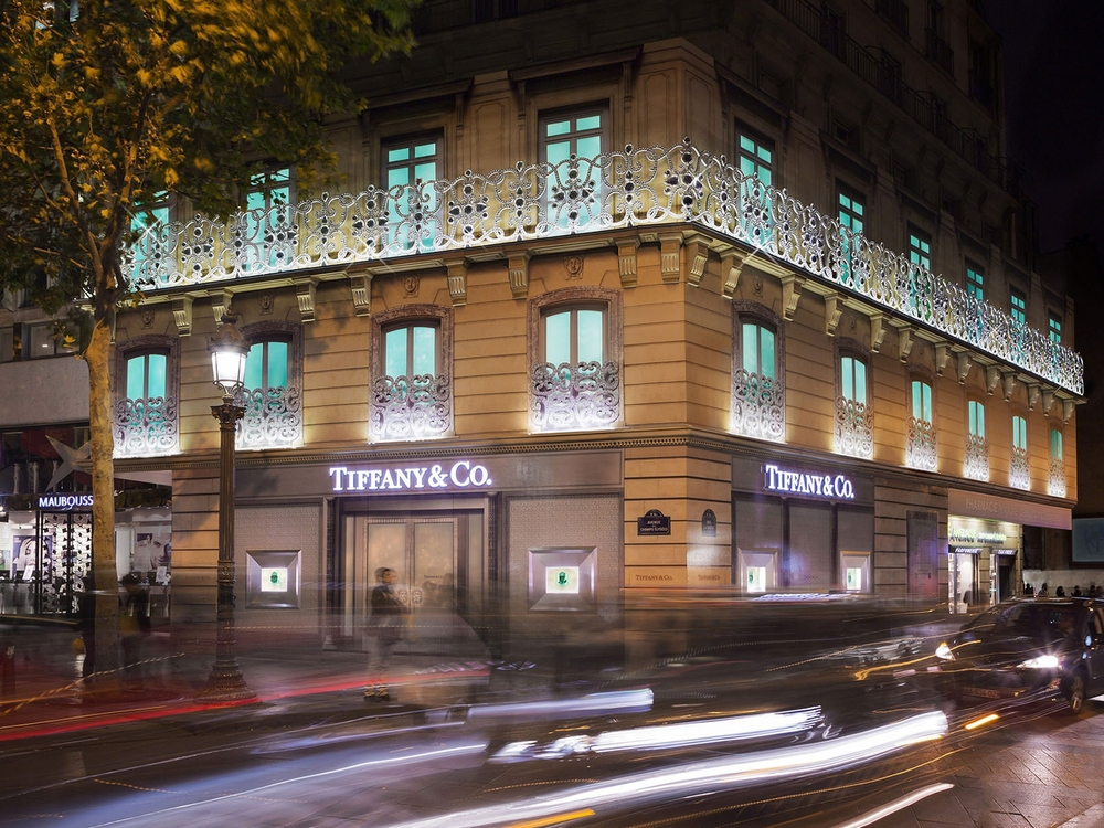 TIFFANY & CO , CHAMPS ÉLYSÉES, PARIS